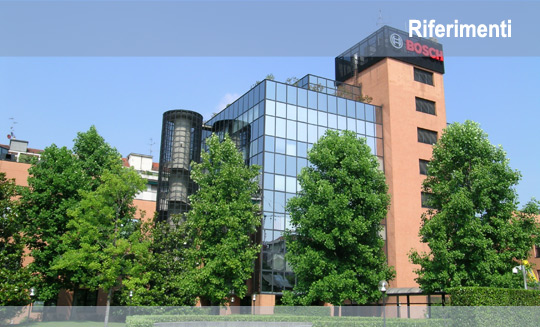 Implementazioni multimediali sede Robert Bosch Milano
