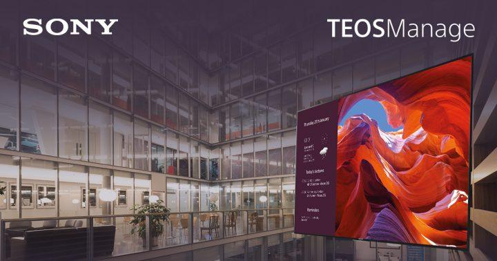 Presentazione della piattaforma SONY TEOS