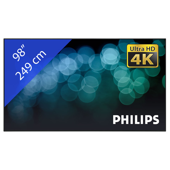 BOARD ROOM CON 98″ PHILIPS